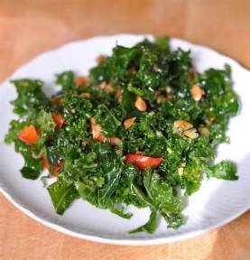kale and carrots