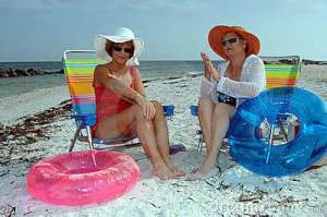 seniors and sun protection